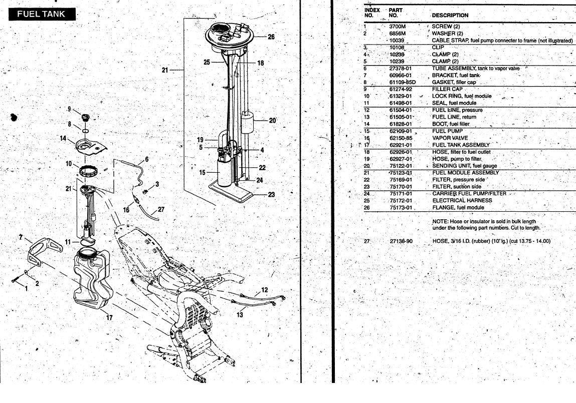 Fuel sending unit - fuel resistance strip - 1130cc.com: The #1 ... on