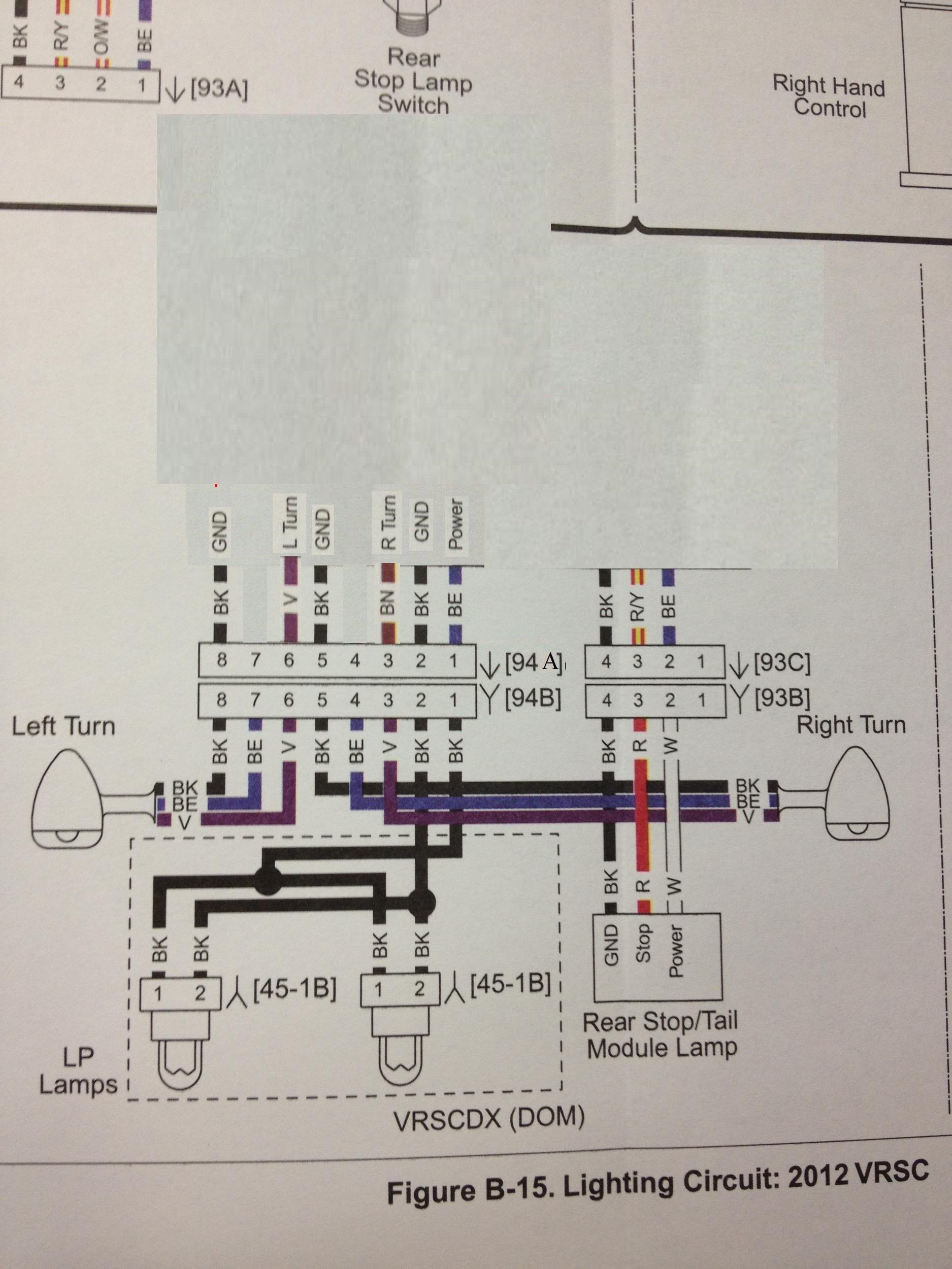 Turn Signals Rewire | Harley Davidson V-Rod Forum | Turn Signal Wiring Diagram Harley |  | V-Rod Forum