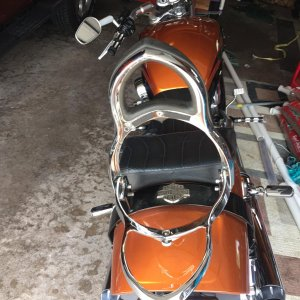 Vrod Muscle Backrest