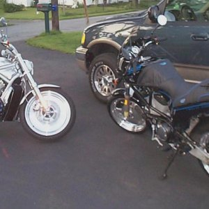 My Buell and V-rod