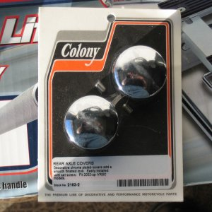 Colony Rear Axle Covers