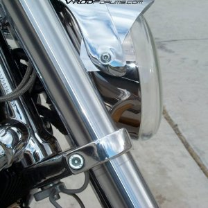 Stock Chromed headlamp