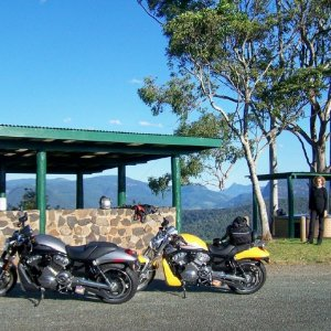 V-Rod Ride Numinbah Valley Australia