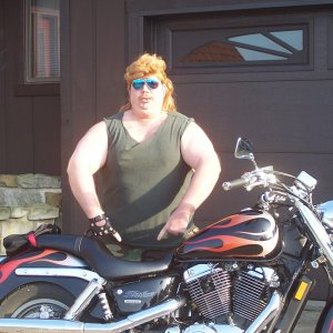 Pics of my motorbike and me