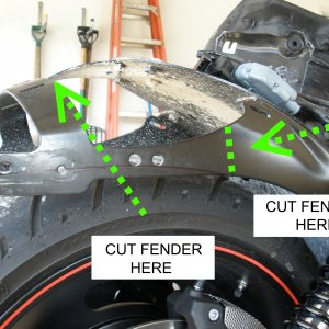 Cutting Inner Fender