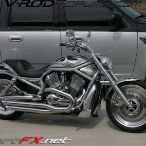 TOAD\'S TRUCK AND V-ROD 2