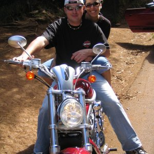 V-Rod that we Rented in Kauai!