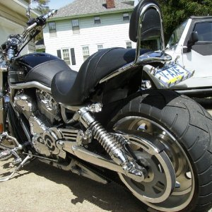 Fenderless V-rod