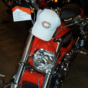 Chicago Bears Screaming Eagle Vrod