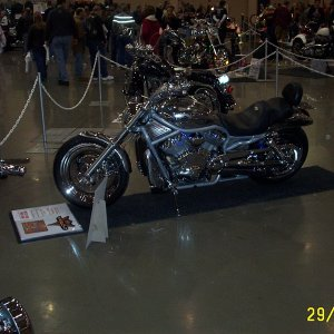 My Bike at the Lousiville EasyRider Show