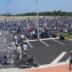 Part II North Parking Lot Rolling Thunder