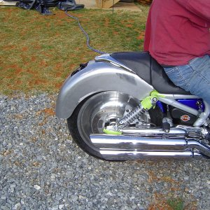 New Rear Fender