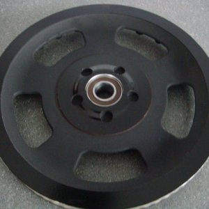 Vinyl covered Rear Pulley