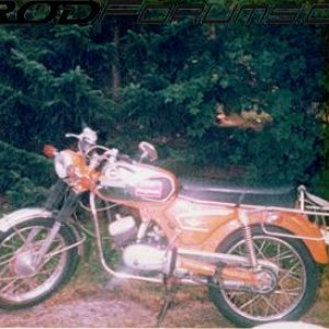 "My first ""bike\"": Zündapp GTS 50, 1977"