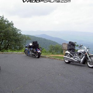 En Route - Blue Ridge