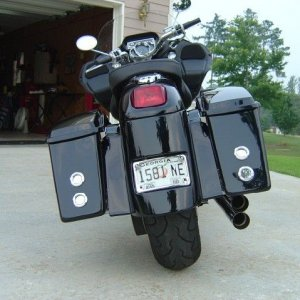 2002 Harley Vrod - Conversion