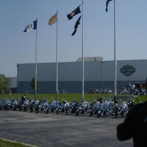 In front of the KC plant