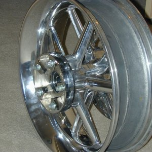 Ten Spoke Polished Wheels