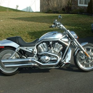 chrome V-ROD