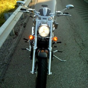 Additional Turn Signals & Forward Footpegs