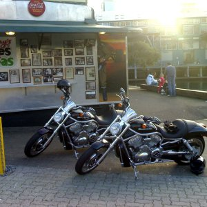 Sydney V-Rod @ Harrys Cafe de wheels.