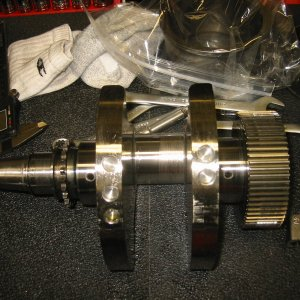 Crank PIN Galled