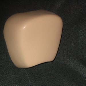smooth fiberglass horn cover
