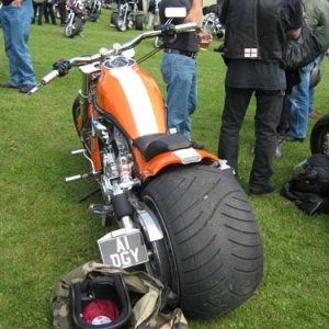 V Rod 330 Rear End