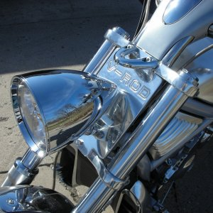 Cobra II headlight plate